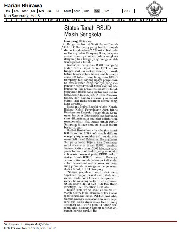 02-11-2015 Kab Sampang Harian Bhirawa Hal 6_001