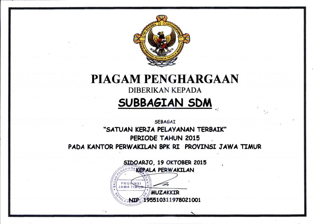 Piagam SDM784