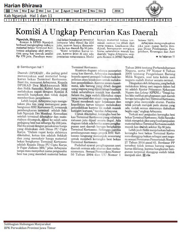 13-01-2016 Kab Nganjuk Harian Bhirawa Hal 1 & 11_001