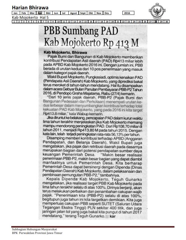 28-04-2016 Kab Mojokerto Harian Bhirawa Hal 5_001