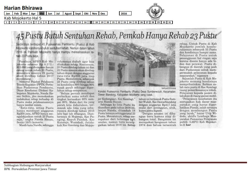 17-05-2016 Kab Mojokerto Harian Bhirawa Hal 5_001