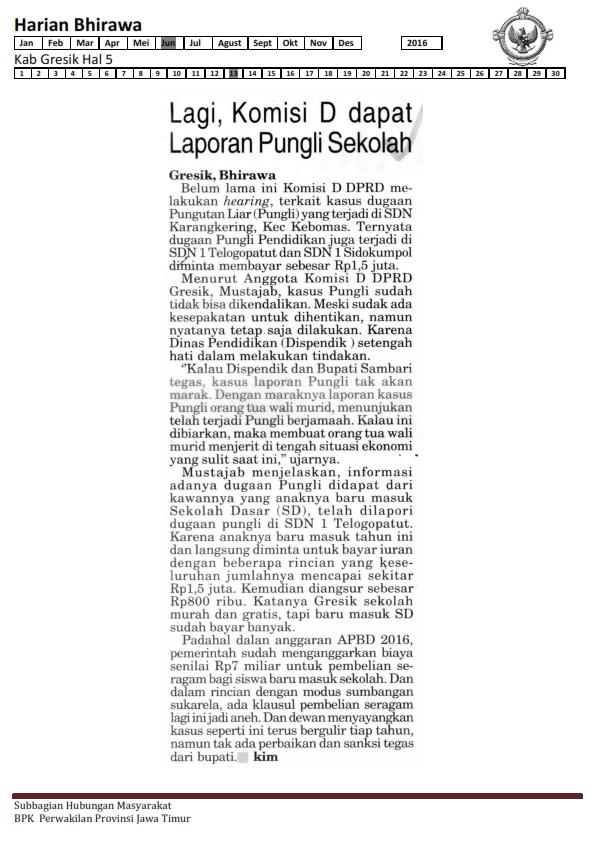 13-06-2016 Kab Gresik Harian Bhirawa Hal 5 _001