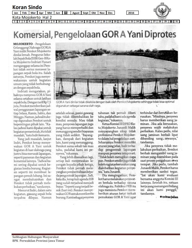 30-07-2016 Kota Mojokerto Koran Sindo Hal 2_001