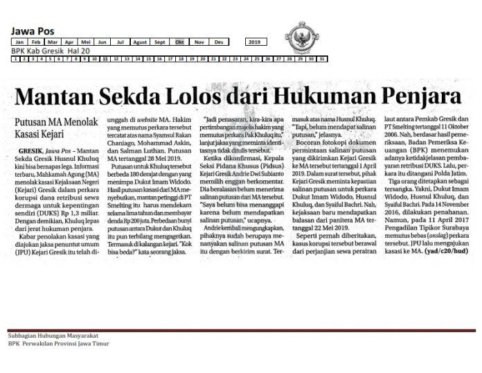 Bpk Perwakilan Provinsi Jawa Timur Informasi Seputar Bpk